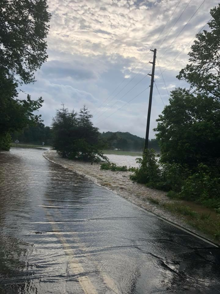 Union Rd Flooding (Western Rutherford County)