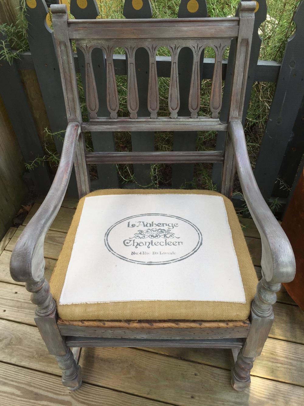 {Deconstructed Farmhouse} Chair