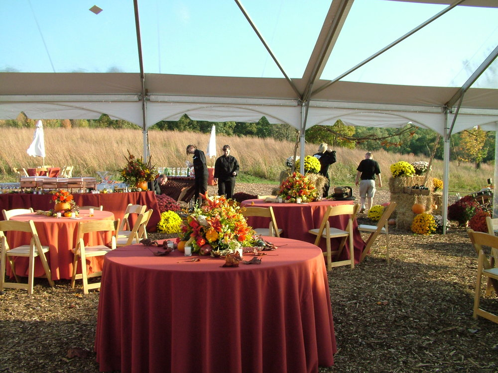 & FEASTIVITIES Caterers in Philadelphia suburbs- Tented Events