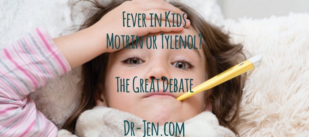 Fever reducer tips by Dr. Jen