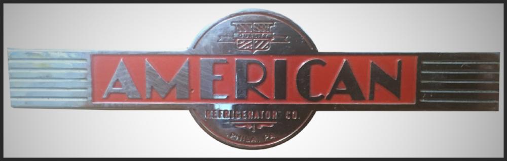 American Refrigerator Emblem, Circa 1955