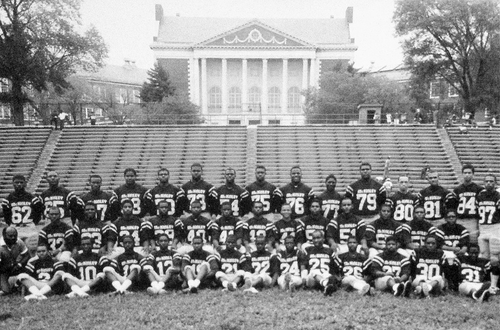 1982 McKinley Technology Football Team. Credit Joe Plummer.