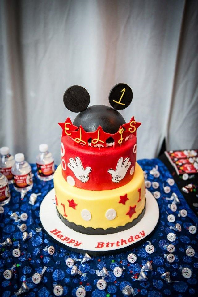 Mickey Mouse 1st Birthday
