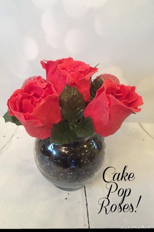 Valentines Day Cake Pop Bouquet — Sweet Cake Fetish