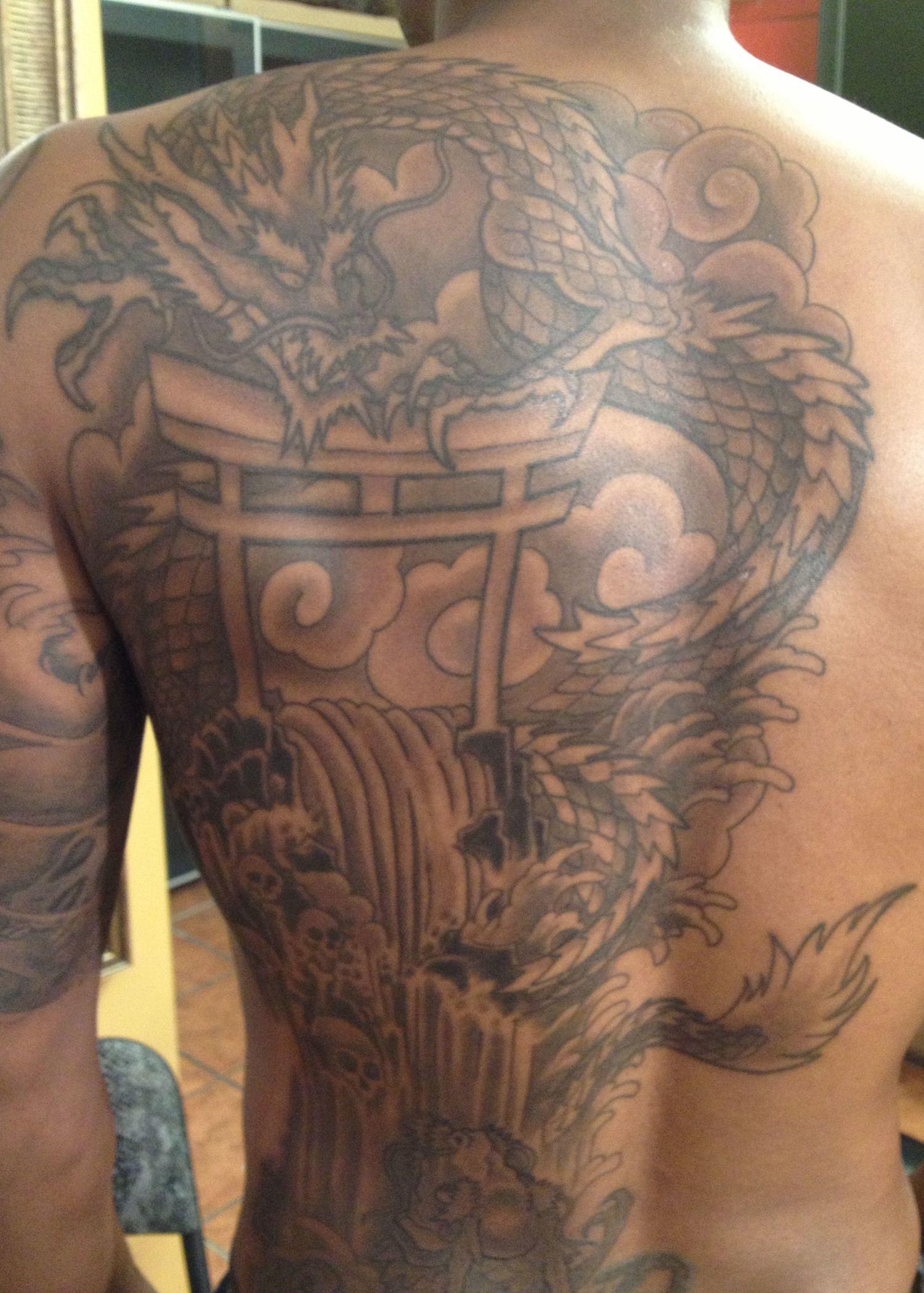 Dark Skin Tattoos Darren The Dude Tattoos Nyc