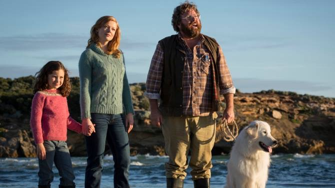 Shane Jacobson said there were no egos on set, apart from the main dog star, Kai the Maremma, who had his own trailer!