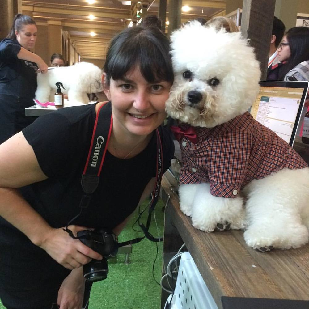 Photographer Cristal Cachia, from  Love Tails Photography , with Dash The Bichon