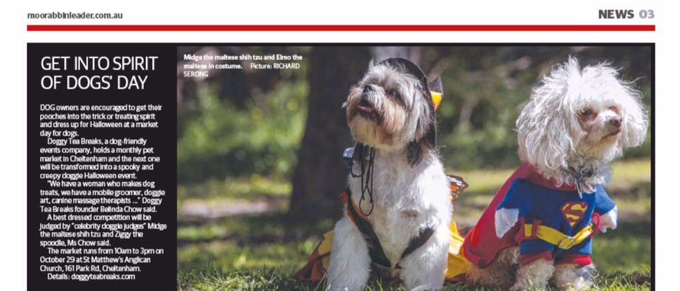Kingston Moorabbin Leader Oct 2016 - Midge and Elmo.jpg