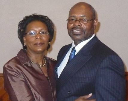 Pastor Lawrence Robinson and his wife Marilyn.