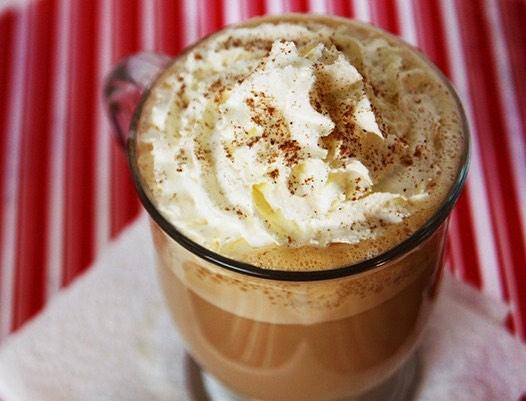 This is a season for eggnog latte, let it snow let it snow let it snow... . . . #eggnog #latte #christmas #weekend