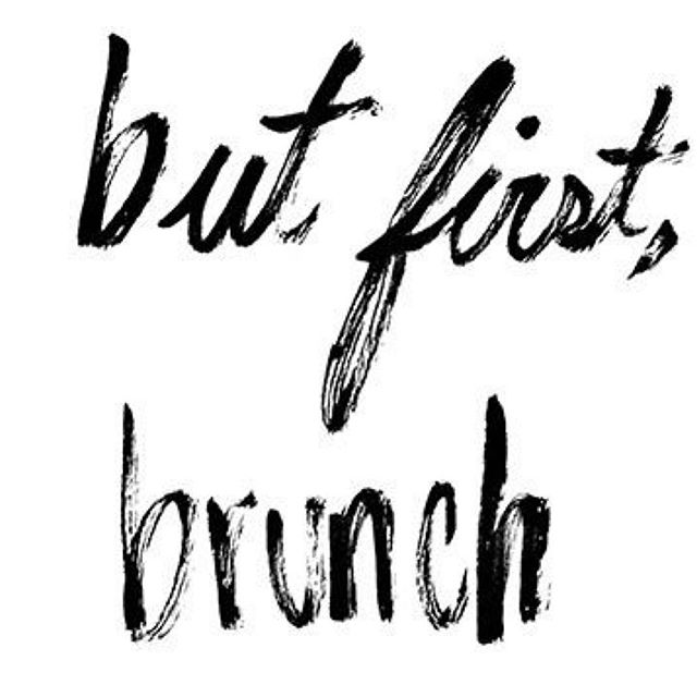 You. BRU. Brunch. And coffee. Always coffee. brunch is always #suchagreatidea join us Saturday & Sunday 9-3☕️ 🍴