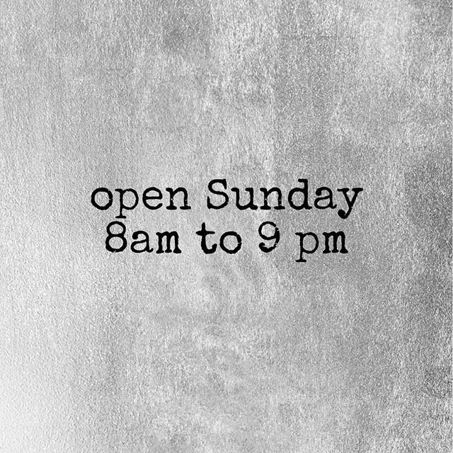 Hours for this holiday weekend! Come in for a drink and bite to eat, we'd love to see you ☕️