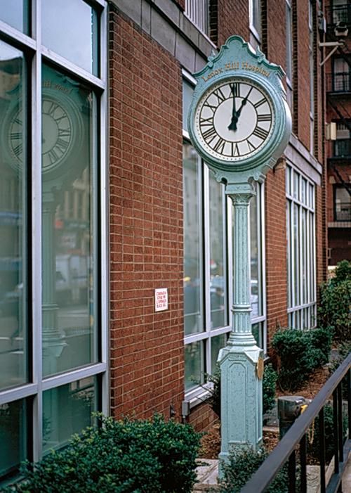 lenox hospital clock