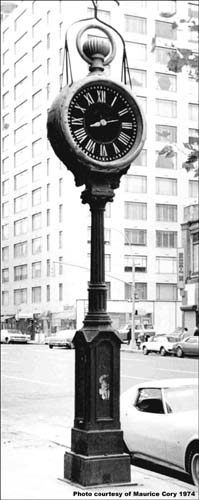 Yorkville Clock, Manhattan NY