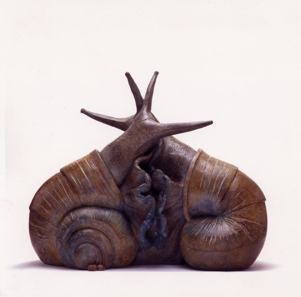 Snail Sculpture - Shelley Charles