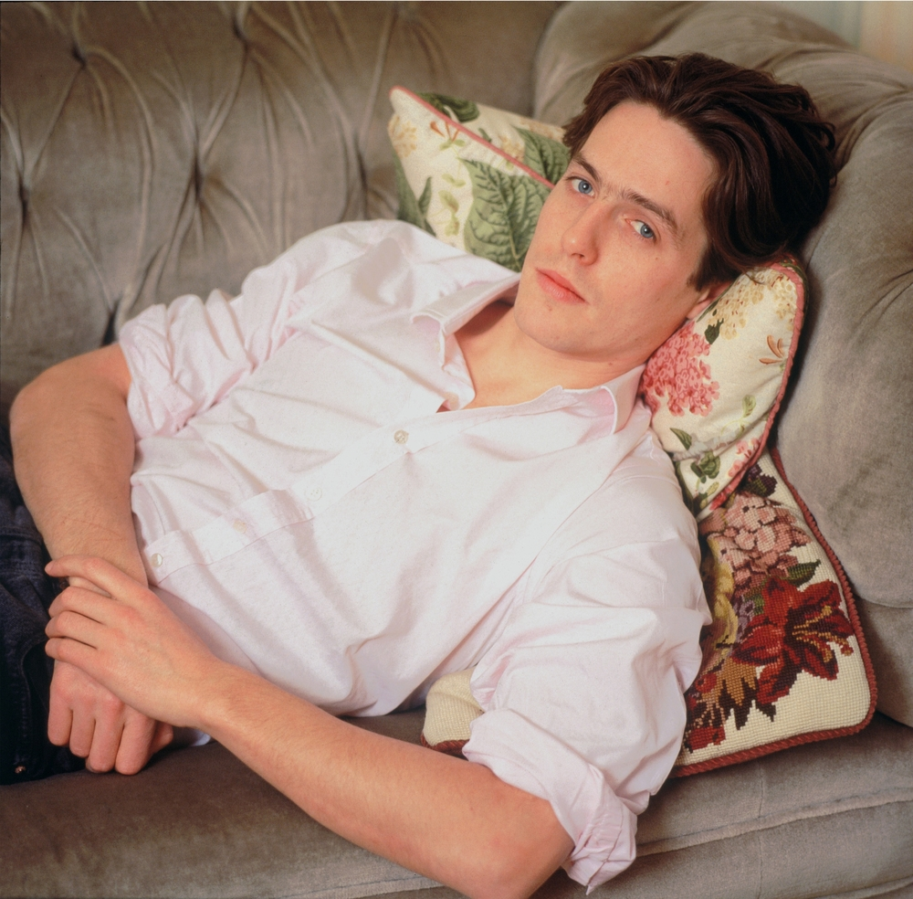 Hugh Grant  - Ledbury Road, Nottinghill