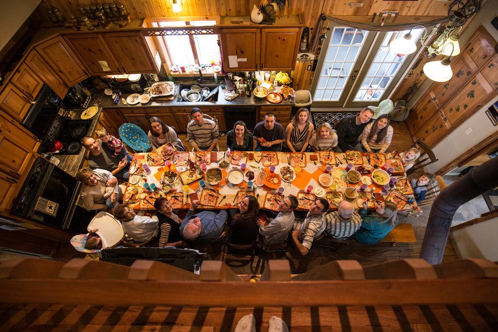 My family at Thanksgiving in 2014.
