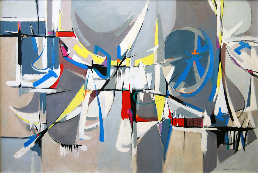 SOLD   Sandia, 1953 , oil on canvas, 36 x 53 inches