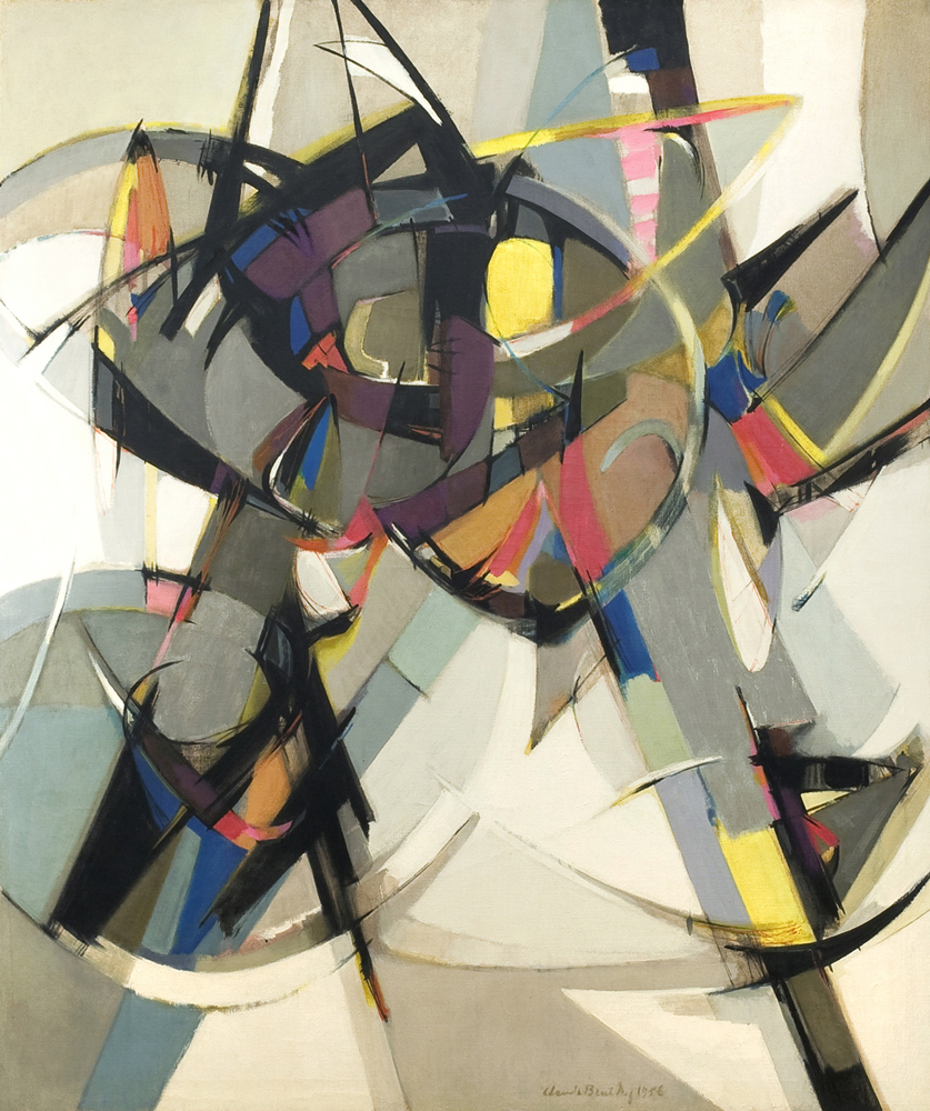 SOLD   Arcana #2, 1956 , oil on canvas, 50 x 42 inches