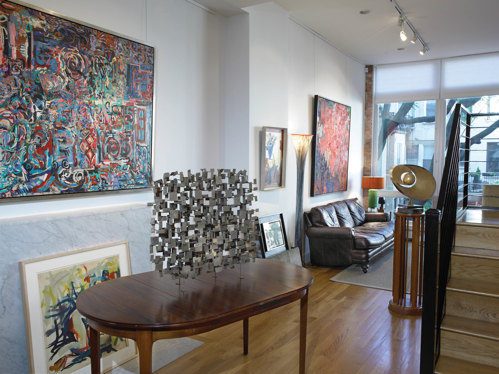 Untitled 1983 , in situ at Vallarino Fine Art, New York
