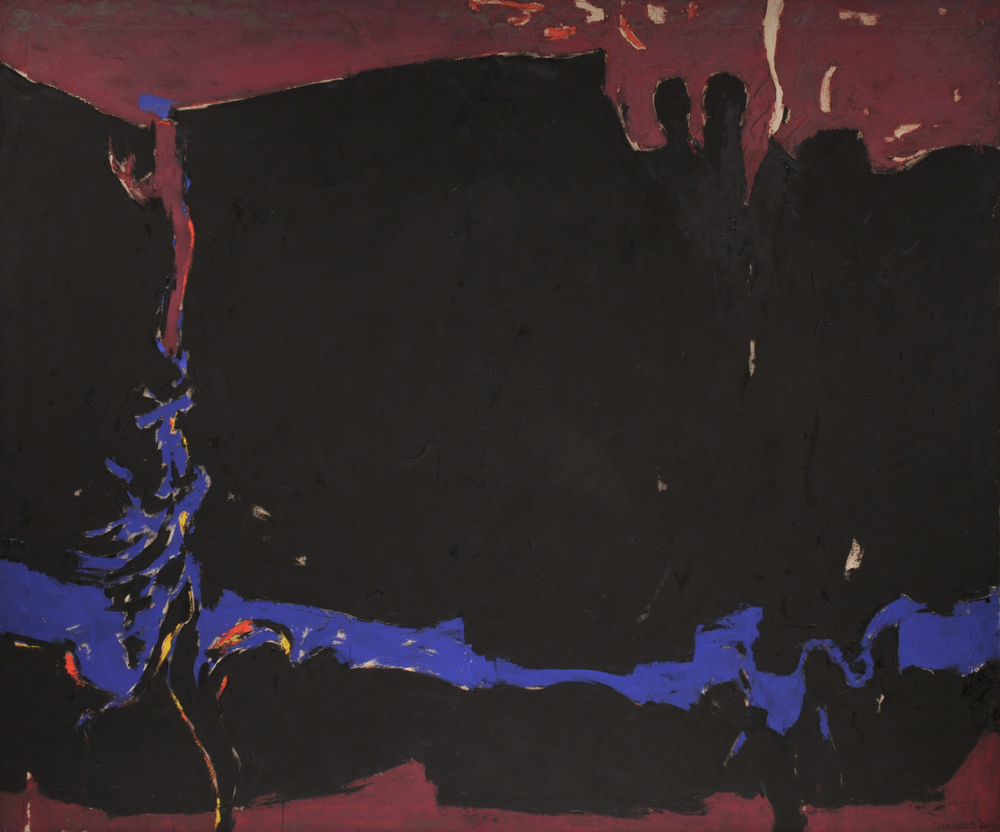 Untitled, 1960   ,  oil on canvas, 79 1/2 x 93 7/8 inches