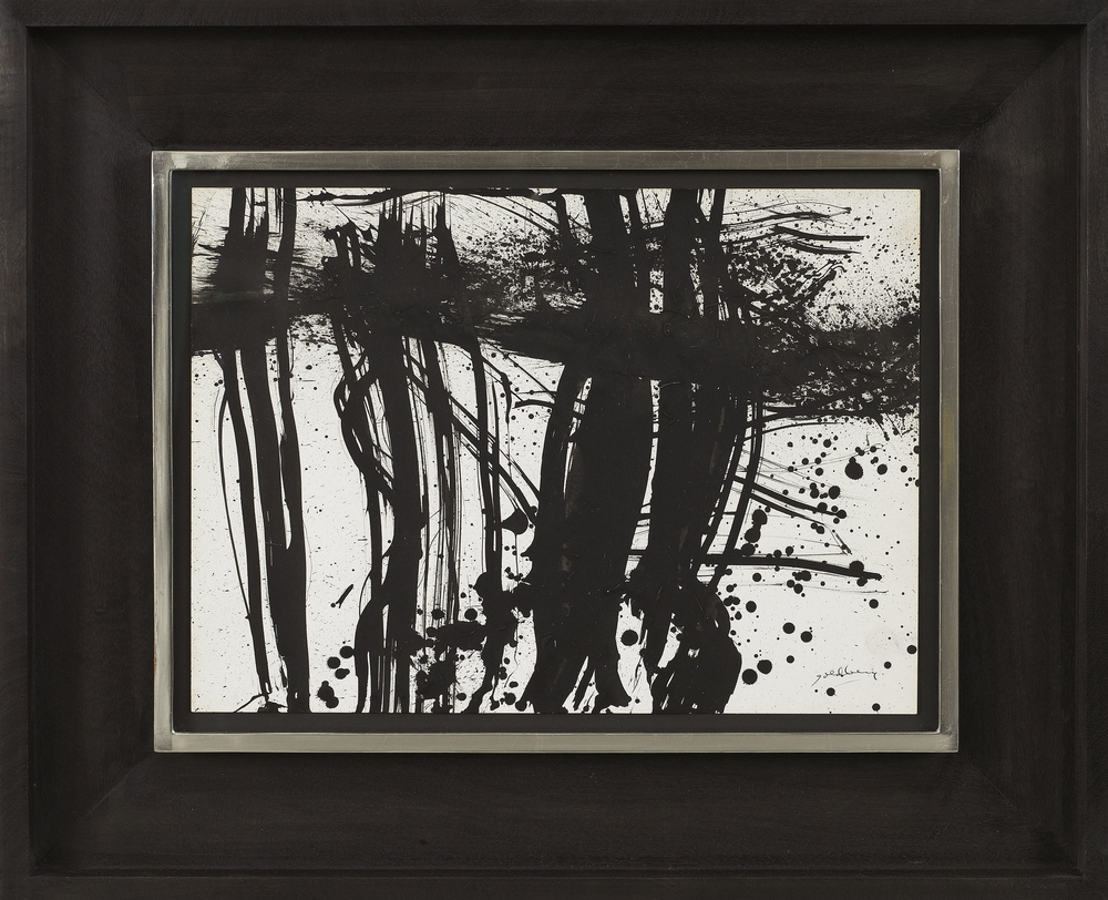SOLD  Untitled, 1962  , India ink on paper, 11 x 15 inches