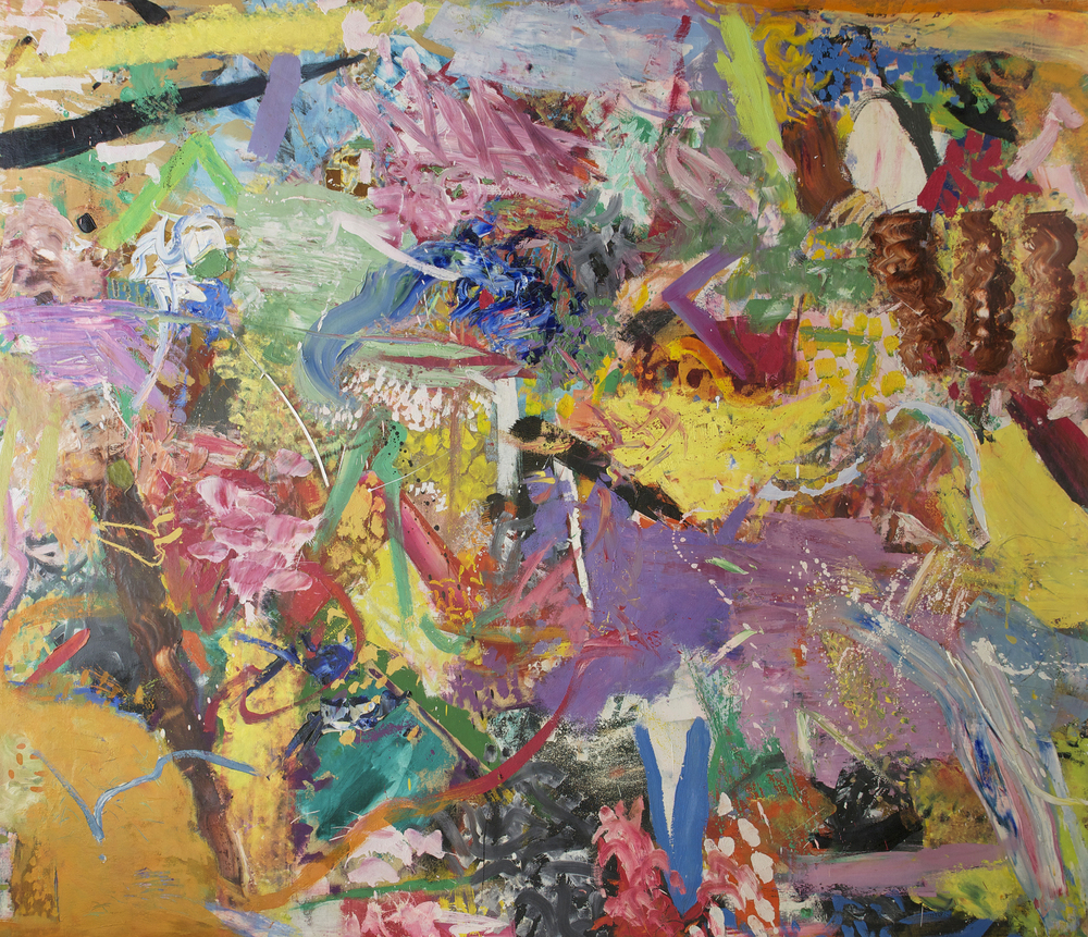Untitled, 1957, oil on canvas, 74 1/2 x 86 inches