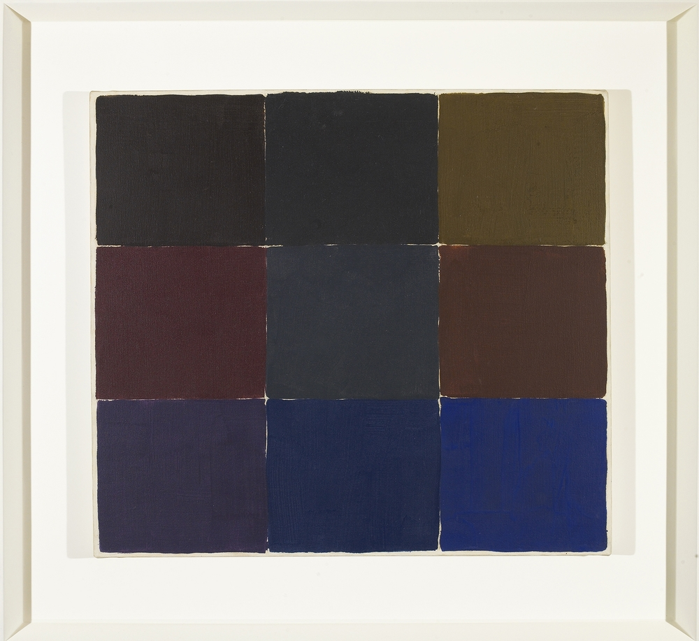Untitled 1965, acrylic on canvas, 21 3/4 x 24 inches