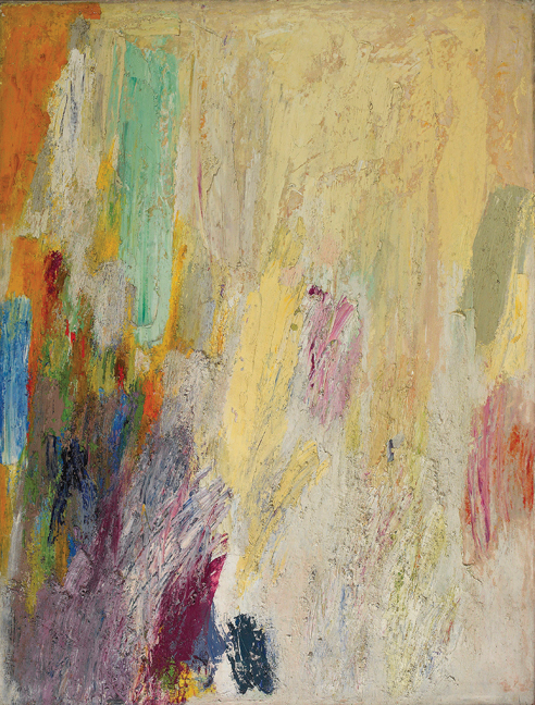 Untitled, c. 1950s,   oil on canvas, 48 x 36 inches