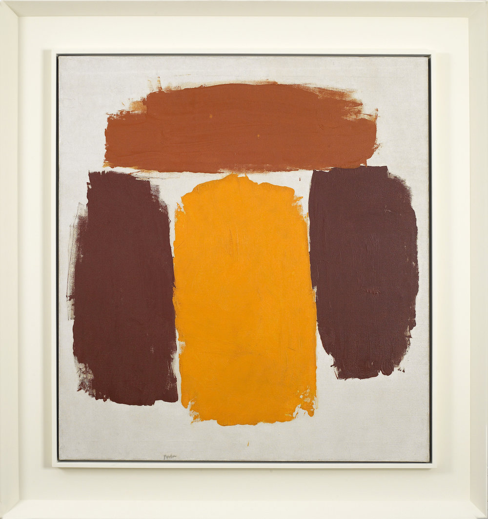 Ray Parker, Untitled, 1963, oil on canvas, 34 x 31 inches