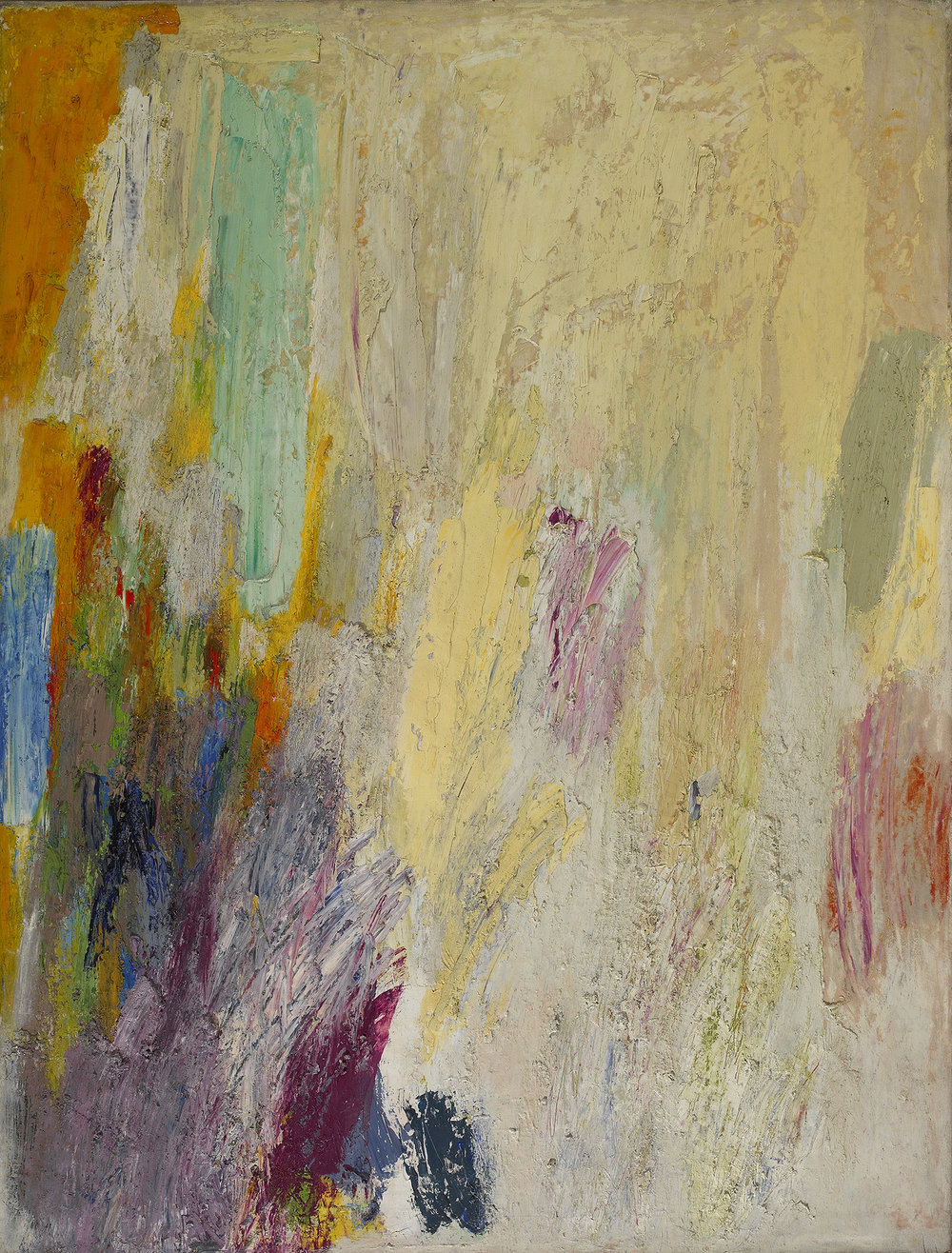 SOLD    Untitled  ,   c. 1950s  , oil on canvas, 48 x 36 inches