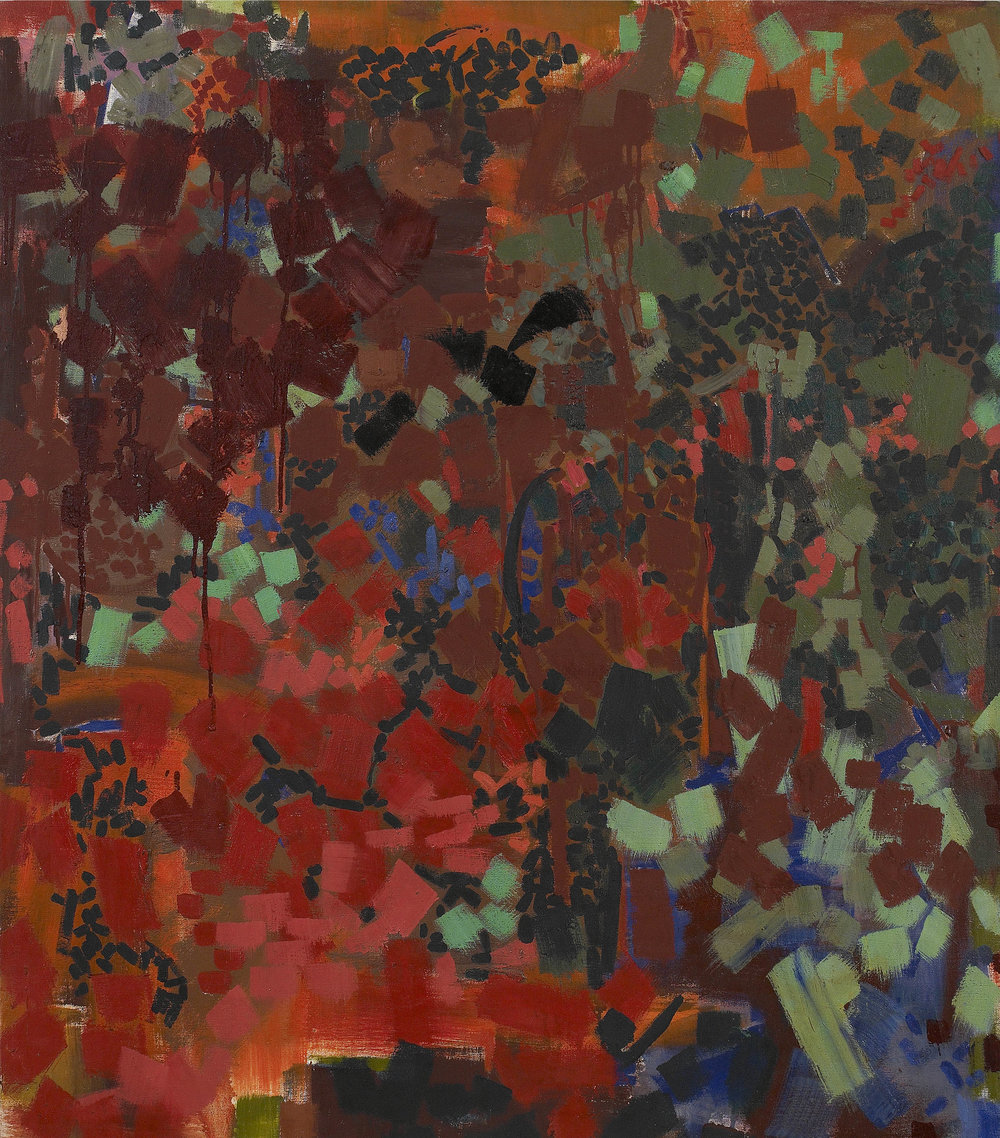 Frika 2  , 1960, oil on canvas, 42 x 36 inches