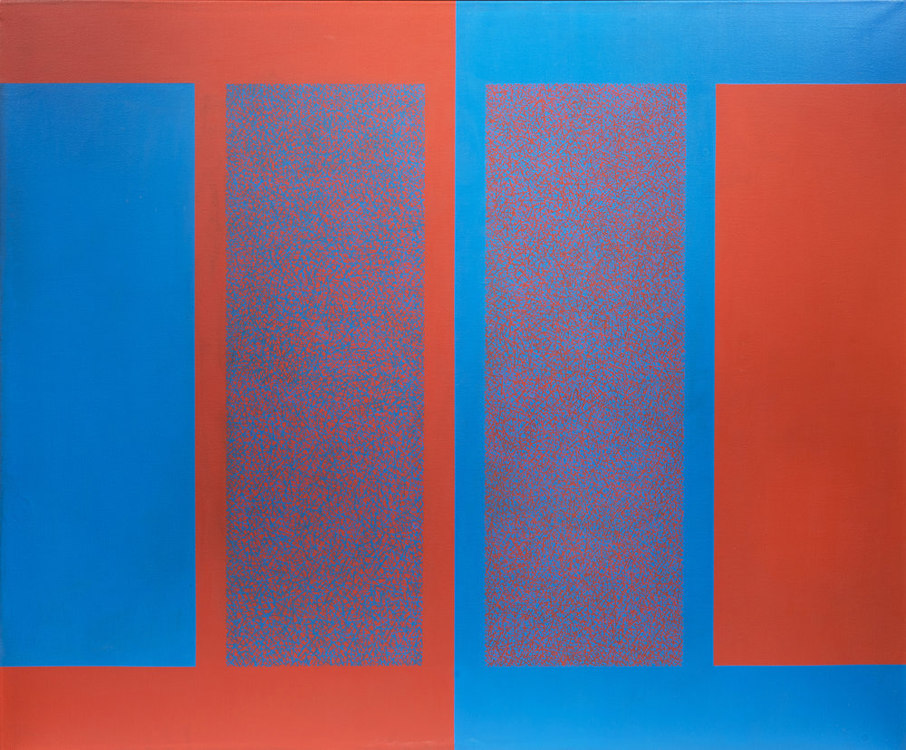 Ambivalence Series 2 - No. 1, 1964  , Acrylic on canvas, 50 x 60 inches