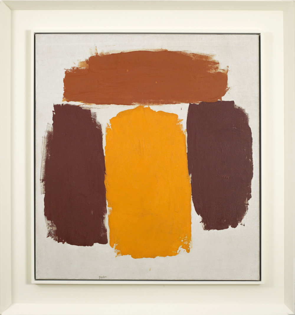 Untitled, 1963, Oil on canvas, 34 x 31 inches