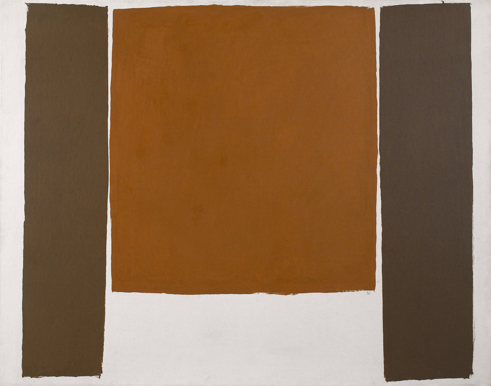 Untitled, 1963, acrylic on canvas,41 x 53 inches