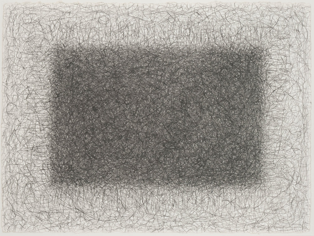 Richard Pousette-Dart, Untitled 1977, graphite on heavy Arches paper, 22 1/2 x 30 3/8 inches