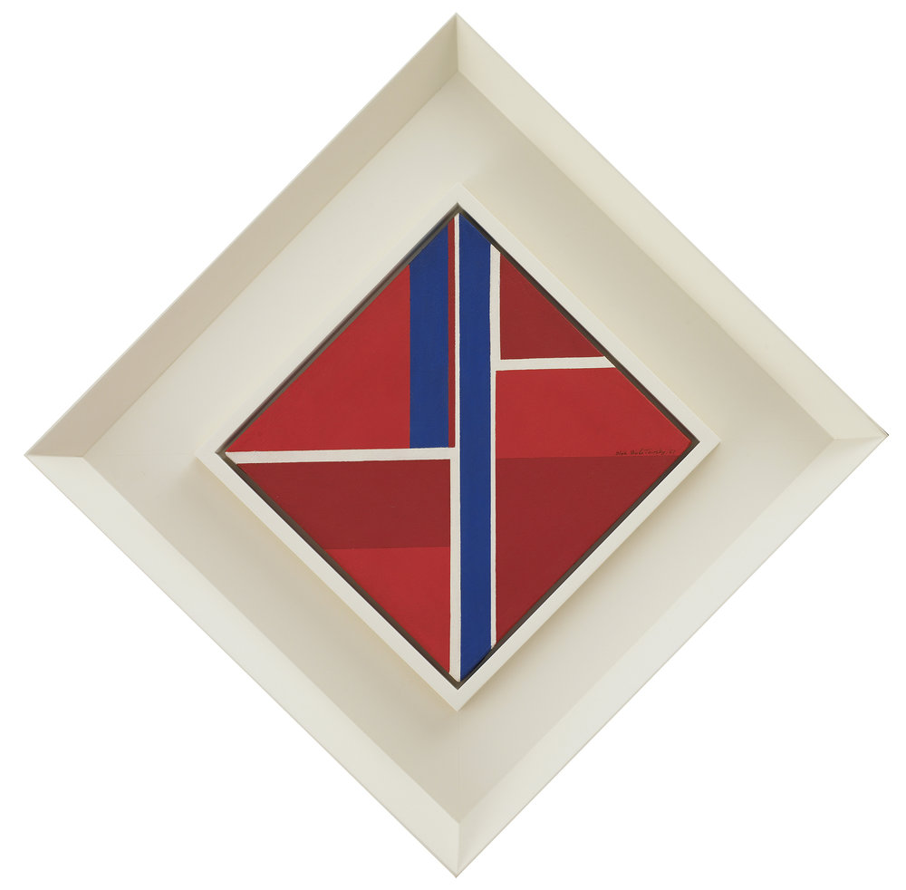SOLD  Untitled, 1967  , oil on canvas, 12 x 12 inches