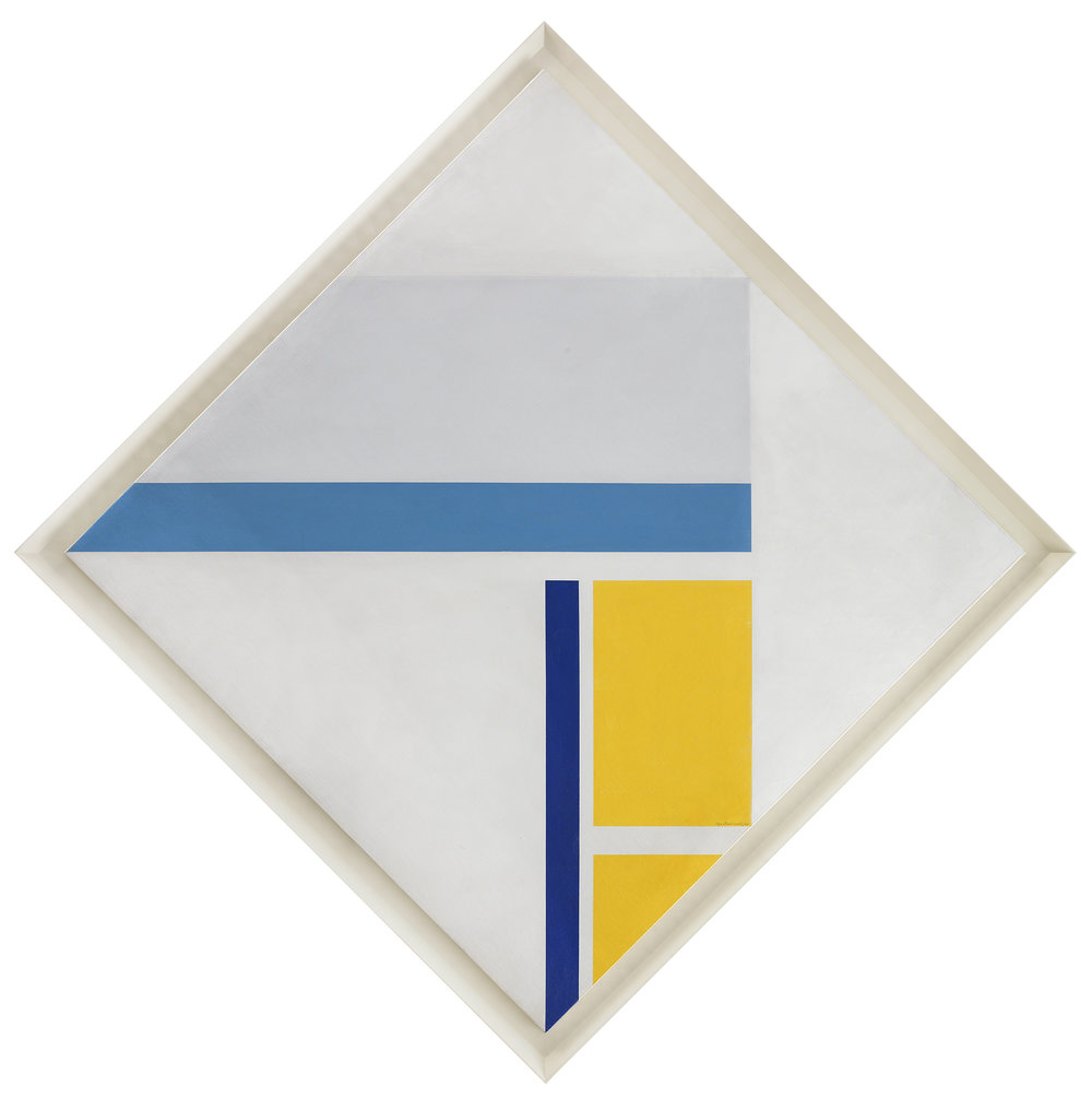 SOLD  Untitled, 1969,   oil on canvas, 42 x 42 inches