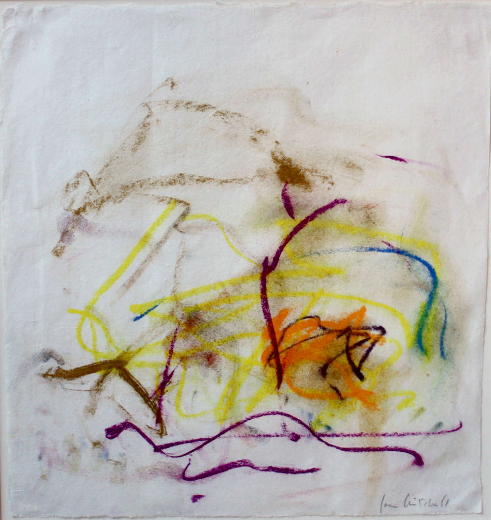 SOLD    Untitled ,  Pastel on paper, 1991,46 x 43 cm