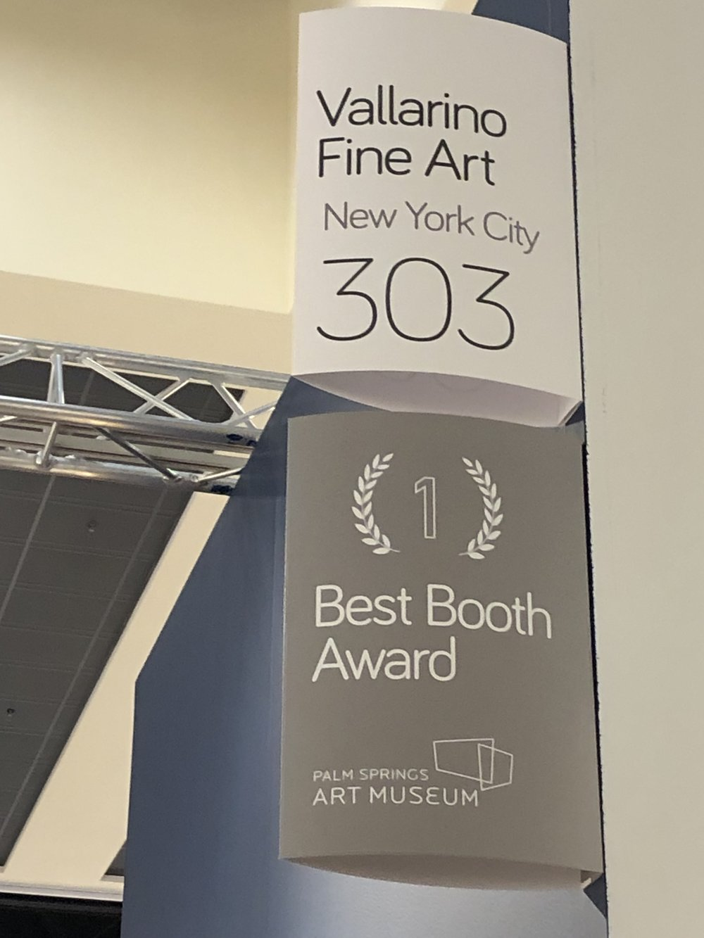 2019 Best Booth Award Recipient: Palm Springs Art Museum