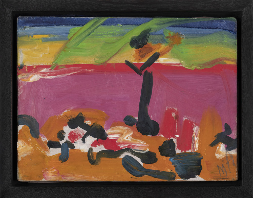 Untitled,  1957, Oil on canvas, 9 x 12 inches