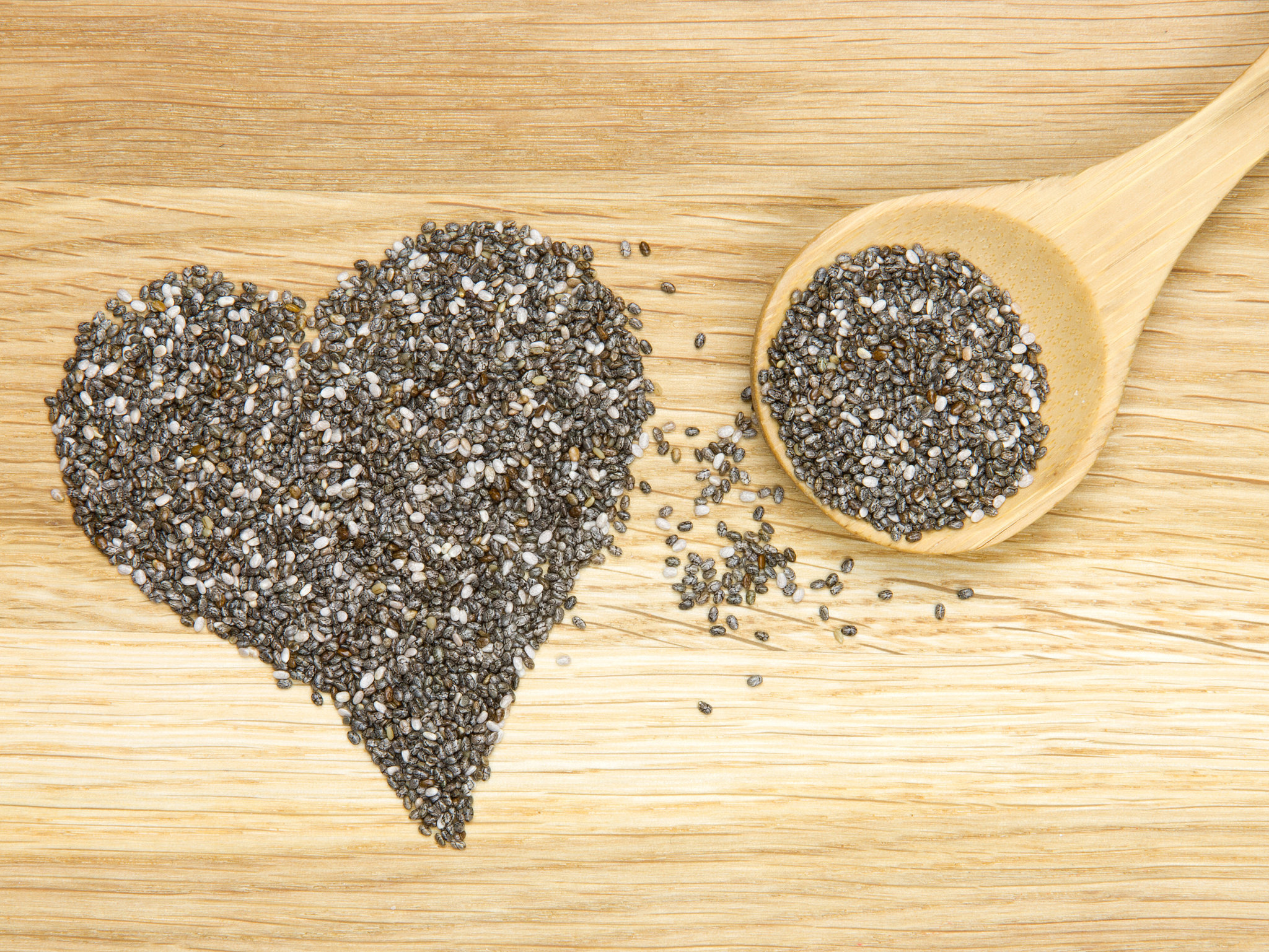 chia seeds heart