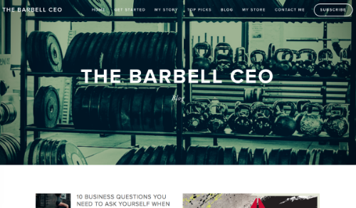 Subscribe to The Barbell CEO Club Newsletter