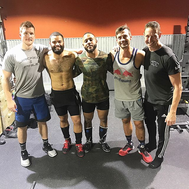 Always a great day when you end up meeting some awesome coaches and fellow weightlifters. Great time today watching these guys go HAM on heavy snatches and cleans. Took some time to do some power work at 70-75% on the side. Always take the time to enjoy the fact you are doing what you love and are fortunate enough to do it with those who feel the same way! #thebarbellceo ••• From left to right. @mikejdewar @alecjose @ndefrei @paulkostas @brooklynathleticclub ••• #crossfit #reebok #fitness #strengthcoach #weightlifting #olympicweightlifting #olylift #crossfitter #functionalfitness #personaltrainer #barbell #entreprenuer #tbt #muscles #snatch #crossfitgames #trainhard #athlete #workout #powerclean #hypertrophy #bodybuilding #cleanandjerk #usaweightlifting #usaw #eleiko #roguefitness