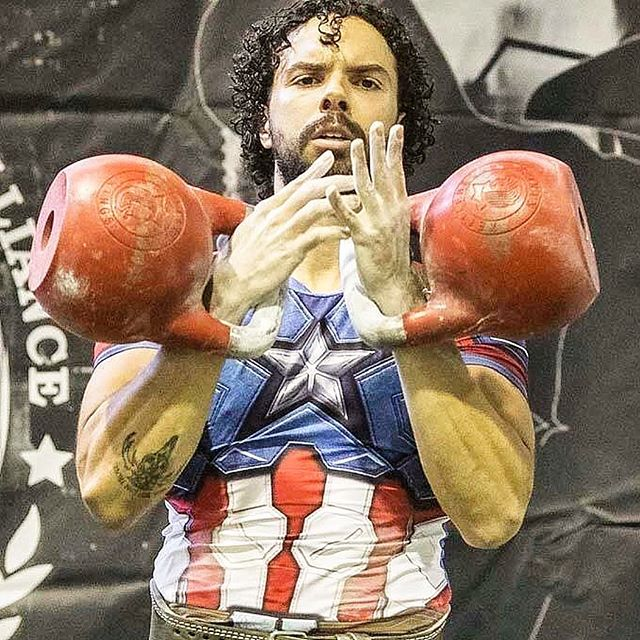 @urstrength just being an everyday superhero. Kettlebell sport world athlete using his talents for the greater good by raising awareness and funds to help those affected by the hurricanes in Puerto Rico. 🙏 @kettlebellkings with some amazing bells as well! #thebarbellceo #crossfit #reebok #fitness #strengthcoach #kettlebelltraining #crossfit #crossfitter #kettlebells #functionalfitness #personaltrainer #kettlebellswing #kettlebellkings #hiit #abs #muscles #snatch #crossfitgames #trainhard #athlete #workout #crossfitgirls #hypertrophy #crossfitphotography #cleanandjerk #cardio #paleo #kettlebellsport #kettlebellworkout #functionalfitness