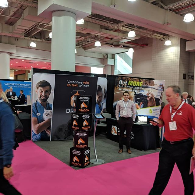 Come visit us at #newyorkvet  and see a demo of our #speechrecognition recognition software. Or at Booth 504 for the next 2 days