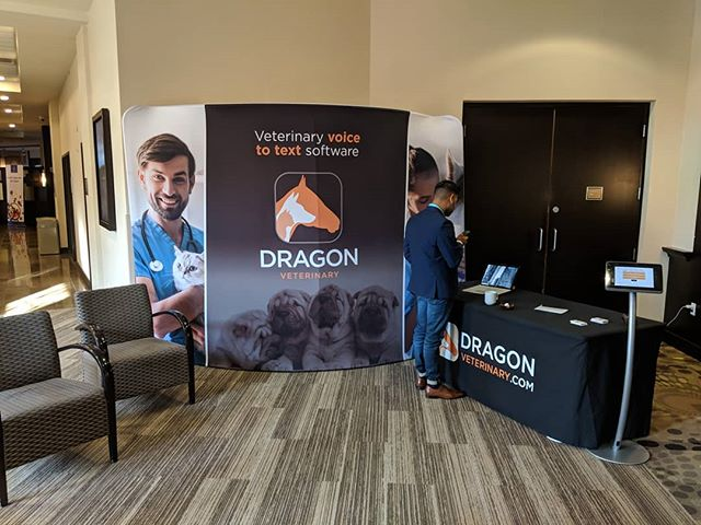 Happy to be a sponsor of ve+ 2018 #vetsummitcanada! Stop by our booth, and we'll gladly give you a demo of our #speechrecognition software.
