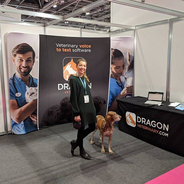 Last hour at the london #vetshow 2018.