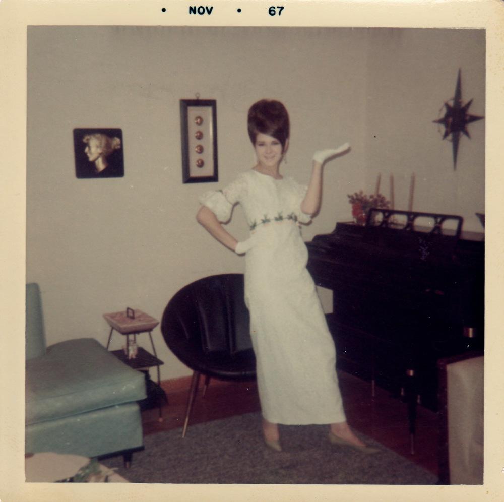 My mom, circa 1967.