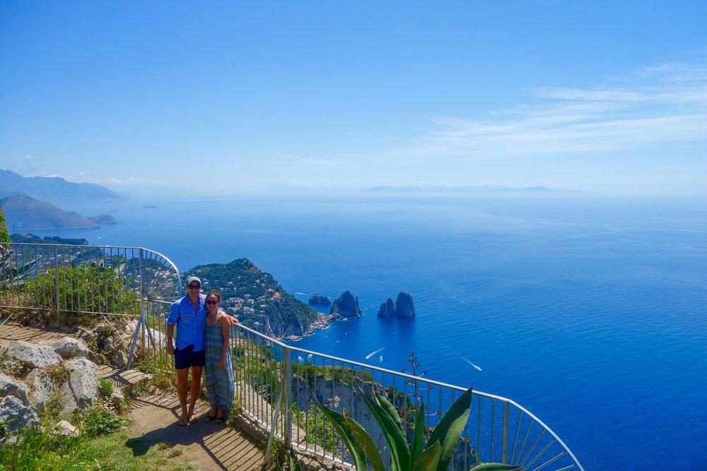 Monte Solaro, Anacapri, Capri